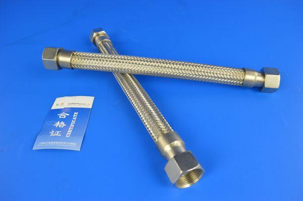 两端内丝活螺母金属软管