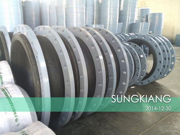 深圳华为荔枝园项目采购上海松江橡胶接头产品,工程案例