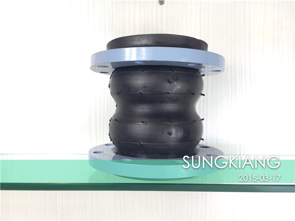 三元乙丙橡胶双球橡胶软连接KST-F型