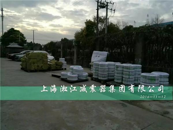 天津客户为了消除杂音,购入KXT-II型橡胶软连接